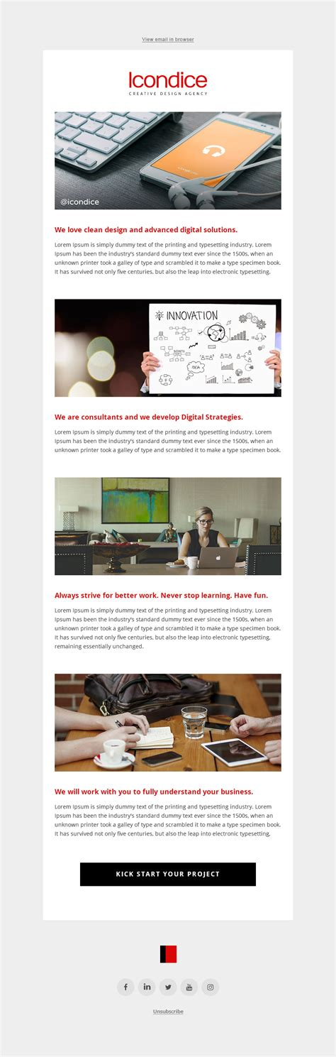 html5 newsletter template 100 free email newsletter templates psd 30 free and