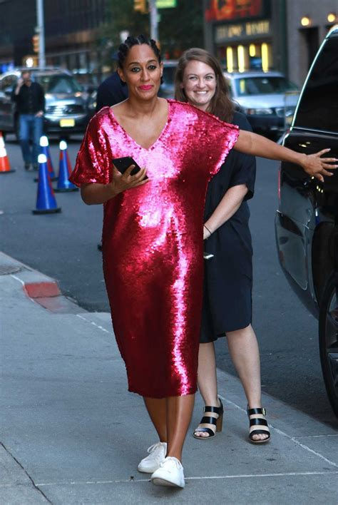 tracee ellis ross zodiac tracee ellis ross arrives at the late show with stephen
