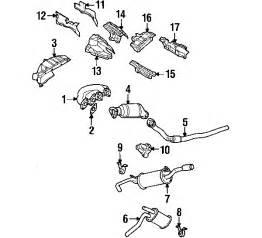 1999 Audi A4 Exhaust System Diagram 1999 Audi A4 Parts Benzel Busch Audi Parts Accessories