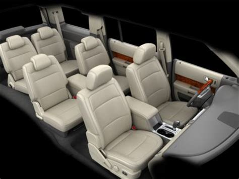 Ford Flex With Captains Chairs by 2011 Ford Explorer 3rd Row