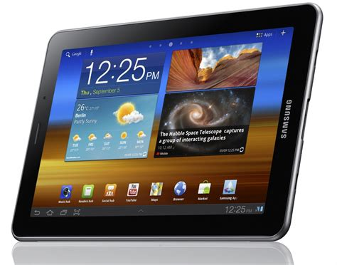 7 samsung tablet samsung announces galaxy tab 7 7 with android 3 2 and a amoled plus display android central
