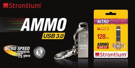 Strontium Ammo Usb 3 0 Flash Drive strontium releases its speed nitro ammo usb 3 0