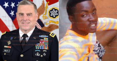 mark a milley military romance scams scamhaters united general mark milley african scammers