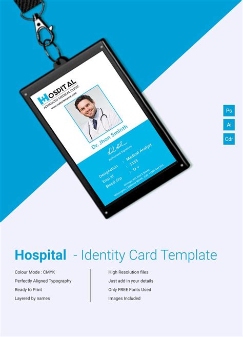Company Id Card Template Cdr by Designing An Id Card From Scratch Is Not An Easy Task To