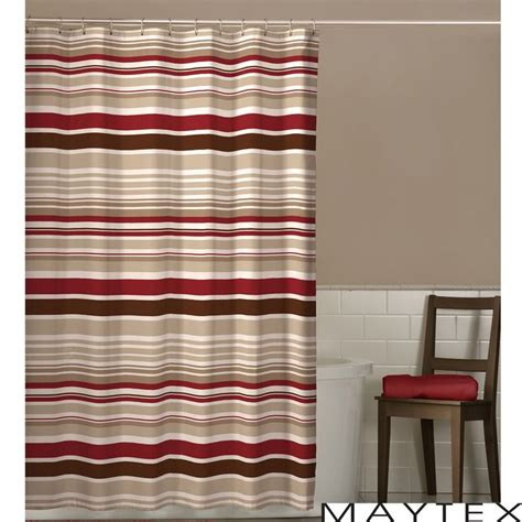 tan striped shower curtain 17 best ideas about striped shower curtains on pinterest