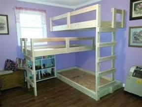 Home Made Bunk Beds Diy Bunk Bed