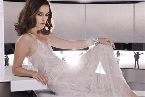 keira knightley hair chanel keira knightley stuns in chanel advert for coco