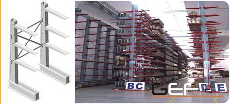 scaffali cantilever usati scaffalature cantilever cantilever per legname e metalli