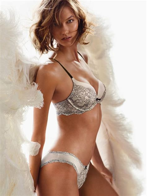 victorias secret model with bob haircutjnnnamnaasmtgyiuop karlie kloss for victoria s secret quot heavenly quot fragrance ad