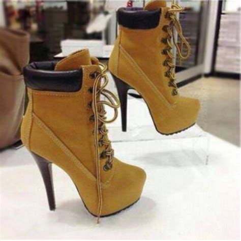 high heels timberlands shoes boots timbaland timberlands chain timberland