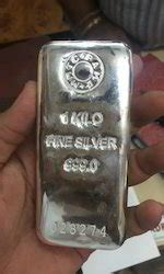 1 Gram Silver Coin Price In Chennai by Silver Bars At Best Price In India