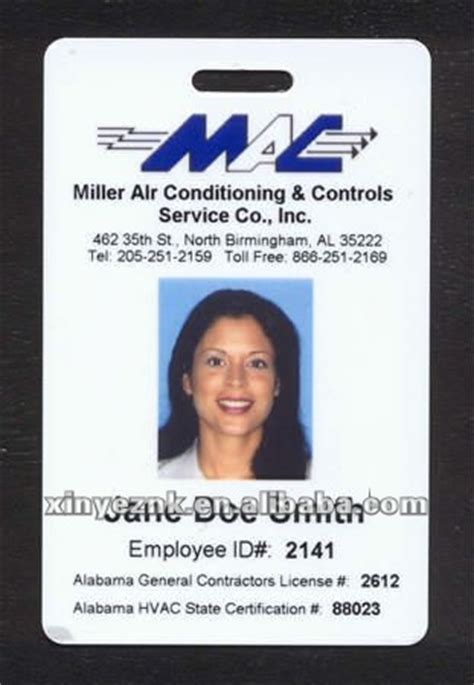 sample employee id cards buy employee id card employee