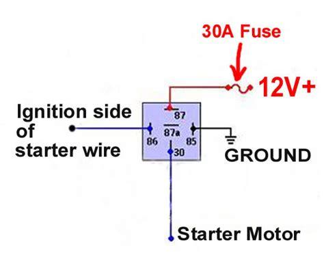 12 volt starter solenoid wiring diagram 12 free engine