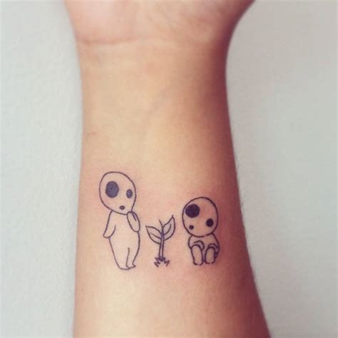 kodama tattoo studio ghibli tattoos fubiz media