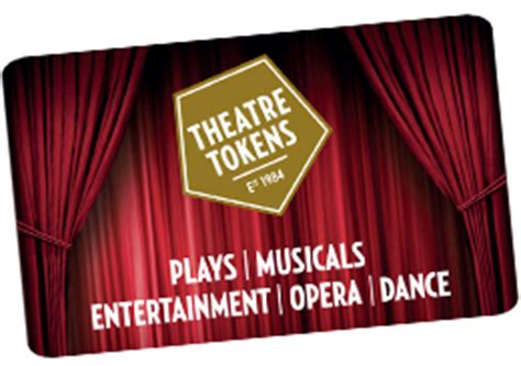 Theatre Gift Card - theatre tokens