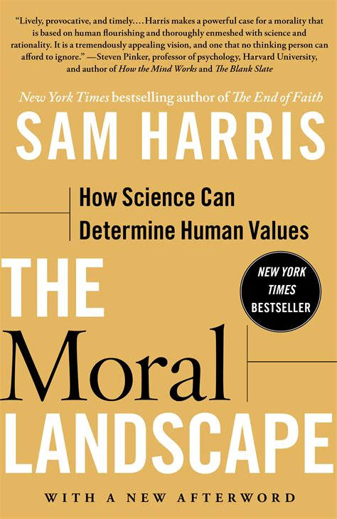 the moral landscape book by sam harris official publisher page simon schuster