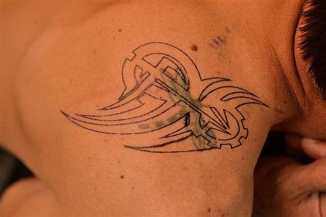 Tattoos Am Arm 5141 by Best 25 Tribal Cover Up Ideas On