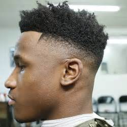 picture of semi flatop tapered afro haircut 50 stylish fade haircuts for black men afro fade men