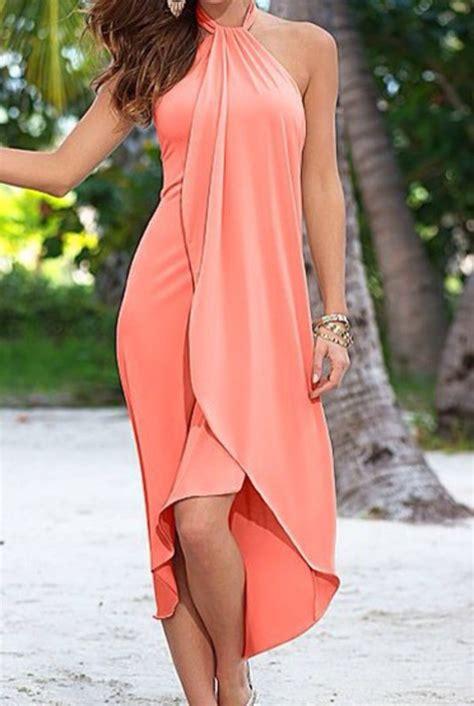 dress pastel colors peach dress cute dress cute top