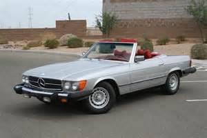 1979 Mercedes 450sl 1979 Mercedes 450sl Roadster Arizona Elite