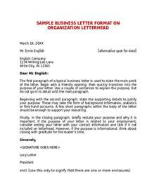 sle business letter format 7 documents in pdf word