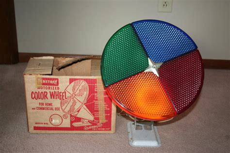 vintage penetray motorized color wheel christmas tree light