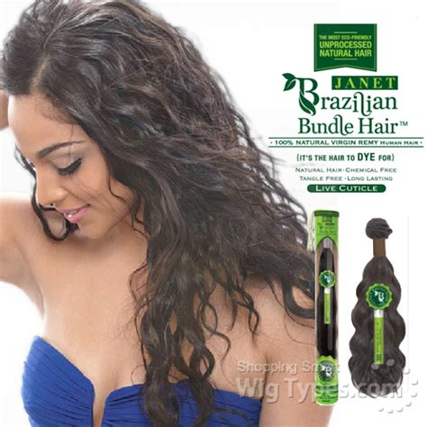 brazillian human hair halle hw 234 janet collection 100 unprocessed remy human hair weave