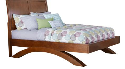full sleigh bed belcourt jr cherry 3 pc full sleigh bed with arched base