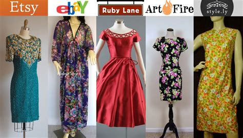 On Line Vintage Clothing Directory A To Z by Where To Buy Vintage