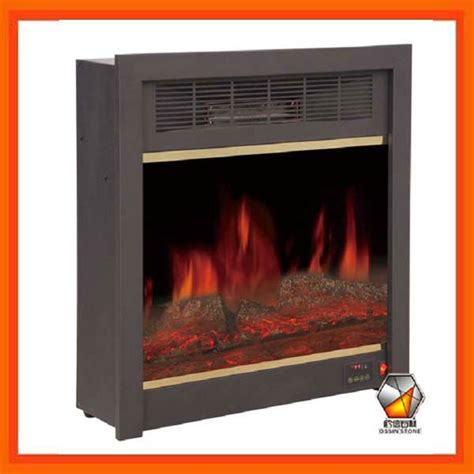 built in electric fireplace insert with remote
