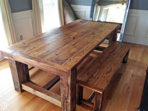 Rustic Farm Dining Table Rustic Extension Table
