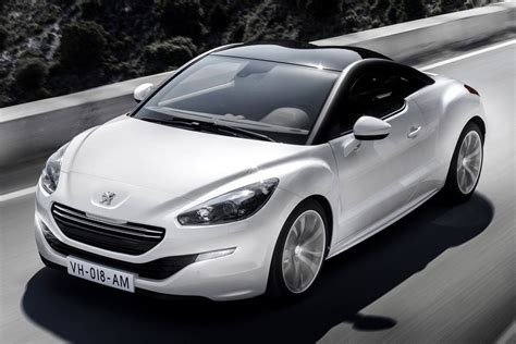 peugot uk peugeot rcz facelift uk pricing autoevolution