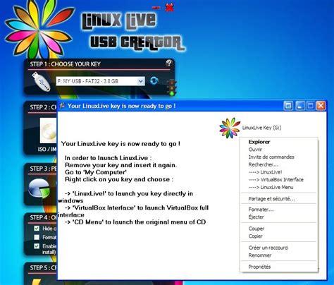 tutorial linux live usb creator linux live usb creator instala linux desde un pendrive o