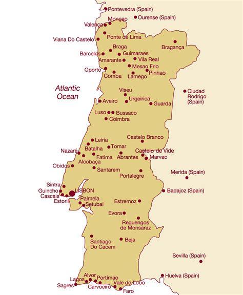 portugal pousadas map ibertours travel portugal