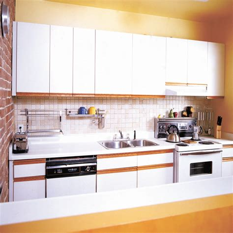 Refinishing Laminate Kitchen Cabinets by How To Refinish Cabinet Doors With Laminate Cabinets
