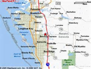 bradenton fl map
