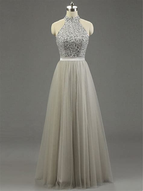 light grey formal dress lovely prom dresses long prom gown tulle prom gowns