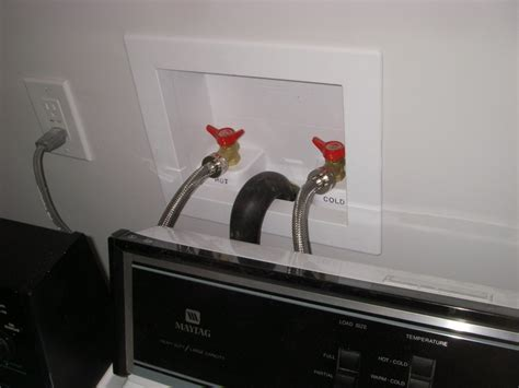 Washer That Hooks Up To Kitchen Sink Washer Hookup
