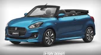 Suzuki Shift Would You Fancy A Maruti Suzuki Convertible