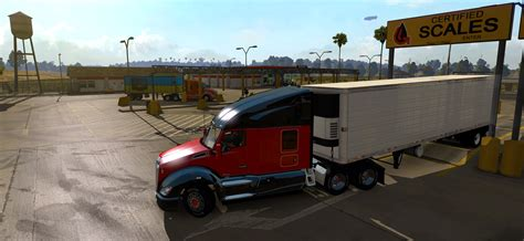 best truck simulator scs software s weigh stations new feature in