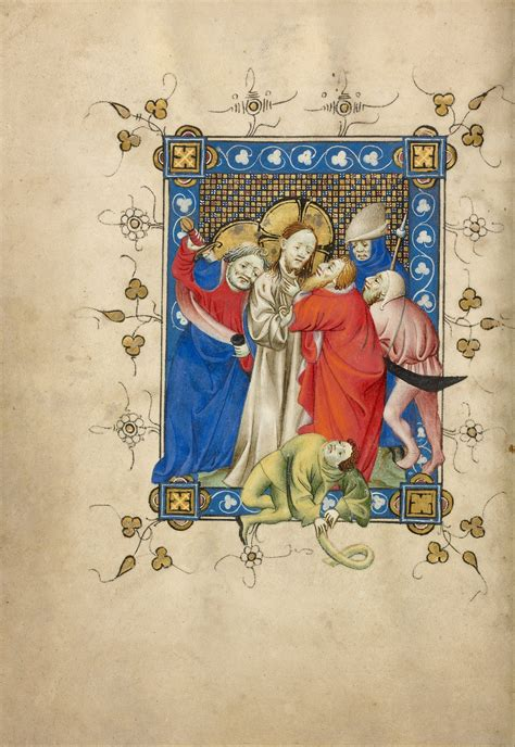 masters of art van file masters of dirc van delf dutch active about 1400 about 1410 the betrayal of christ