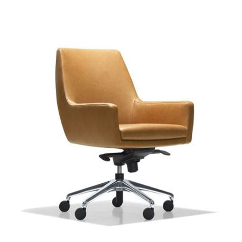 average desk chair more like an elegant lounge chair on casters than a