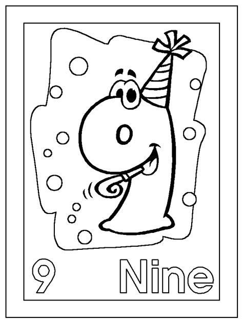 dltk numbers coloring pages dltk s template printing
