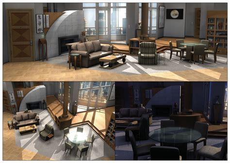frasier living room frasier s apartment 3d by neonduck on deviantart