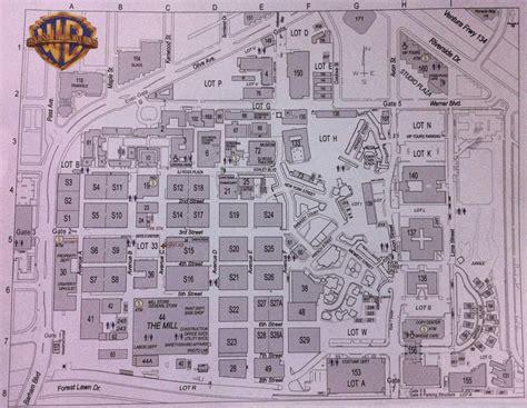 map of studios spook central california the burbank studios
