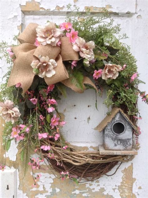 spring wreaths spring wreath easter wreath summer wreath front door