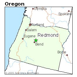 Redmond Oregon Map by Best Places To Live In Redmond Oregon