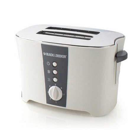 Black Decker 2 Slice Toaster black decker 800w cool touch 2 slice toaster et122 b5