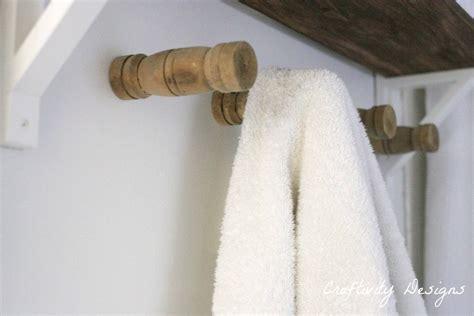 wooden towel hooks for bathrooms diy wood towel hooks craftivity designs