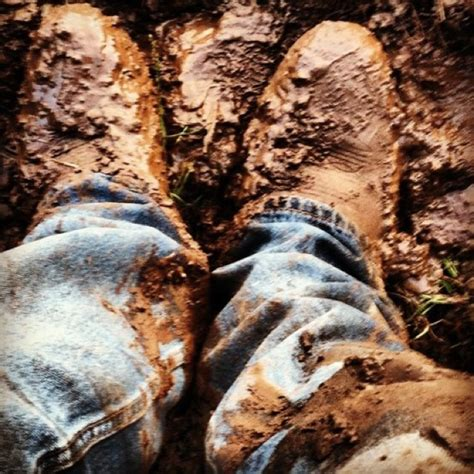 muddy boots nuthin like a pair of muddy boots cowboy boots